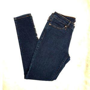 Levi's mid rise skinny leggings jeans